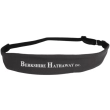 Brooks Berkshire Slim Headband (For Men and Women) in Anthracite - Closeouts