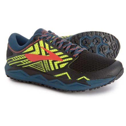 a67028f476e Brooks Caldera 2 Trail Running Shoes (For Men) in Blue Nightlife Black