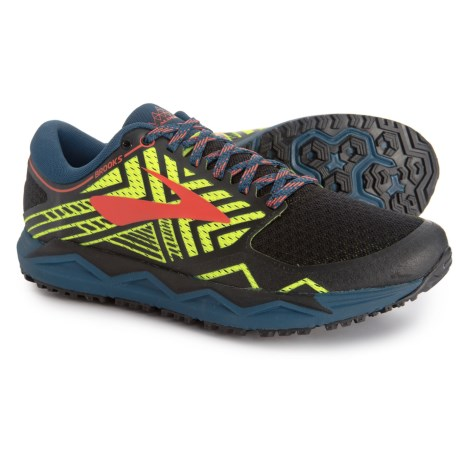 ff7083f705cb Brooks Caldera 2 Trail Running Shoes (For Men) in Blue Nightlife Black