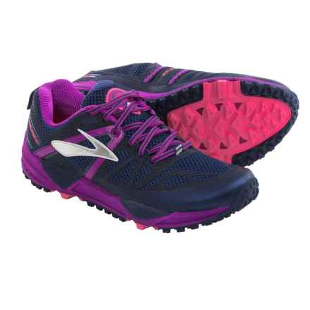 Brooks Cascadia 10 Trail Running Shoes (For Women) in Midnight/Purple Cactus Flower - Closeouts