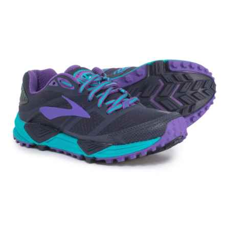 660e8c6b659 Brooks Cascadia 12 Trail Running Shoes (For Women) in Peacoat Passion  Flower