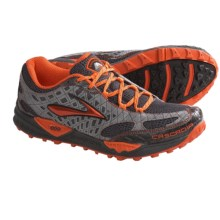 Brooks Cascadia 7 Trail Running Shoes (For Men) in Cherry Tomato/Gargoyle/Anthracite/Silver - Closeouts