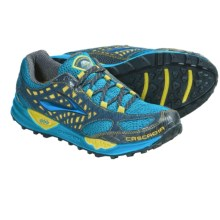 Brooks Cascadia 7 Trail Running Shoes (For Men) in Euro Blue/Citronelle/Anthracite - Closeouts
