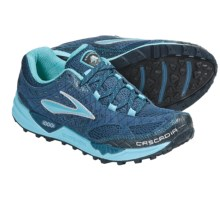 Brooks Cascadia 7 Trail Running Shoes (For Women) in Stellar/Scuba Blue/Marina/Silver - Closeouts