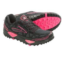 Brooks Cascadia 8 Trail Running Shoes (For Women) in Iron/Black/Brite Pink - Closeouts