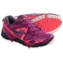 Brooks Cascadia 9 Trail Running Shoes (For Women) in Festival Fuschia/Midnight/Fiery Coral - Closeouts