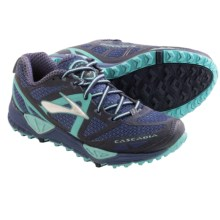 Brooks Cascadia 9 Trail Running Shoes (For Women) in Vintage Indigo/Midnight/ Marine Lbue - Closeouts