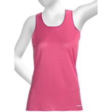 Brooks D'lite Mesh Tank Top (For Women) in Rouge - Closeouts
