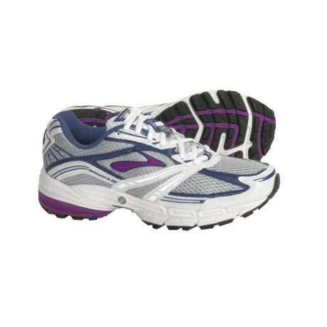 Brooks Defyance 3 Running Shoes (For Women) in Faded Denim/Dahlia/Silver/White