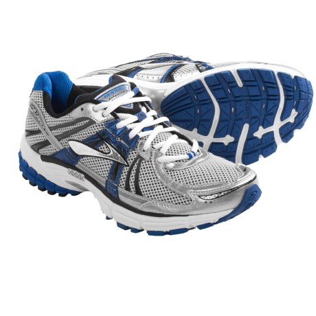 Brooks Defyance 6 Running Shoes (For Men) in Olympic/Silver/Pavement/Black/White