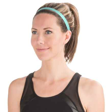 Brooks Distance Running Headband (For Women) in Surf - Closeouts