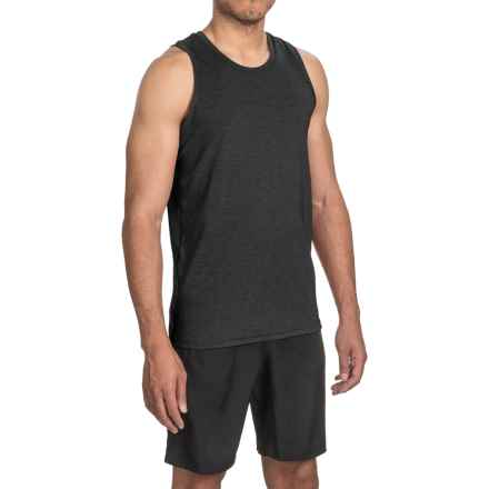 Brooks Distance Tank Top (For Men) in Heather Black - Closeouts