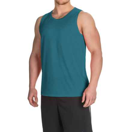 Brooks Distance Tank Top (For Men) in Heather River - Closeouts