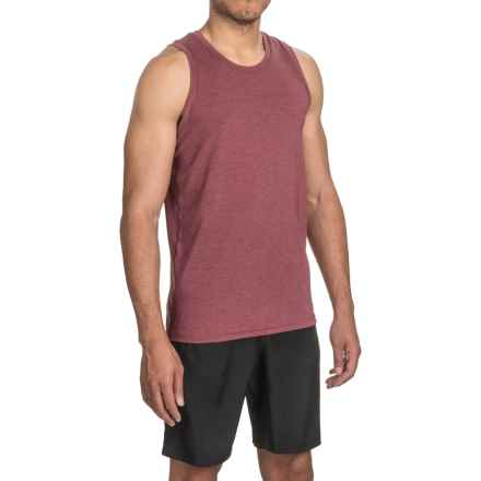 Brooks Distance Tank Top (For Men) in Heather Root - Closeouts