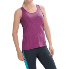 Brooks Distance Tank Top (For Women) in Heather Currant - Closeouts