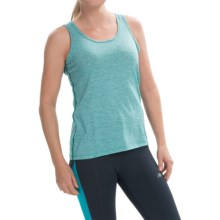 Brooks Distance Tank Top (For Women) in Heather Kale - Closeouts