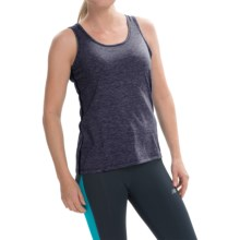 Brooks Distance Tank Top (For Women) in Heather Navy - Closeouts