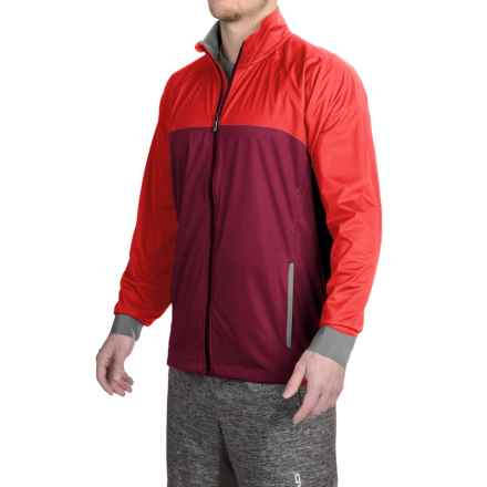 Brooks Drift Shell Jacket (For Men) in Root/Lava - Closeouts