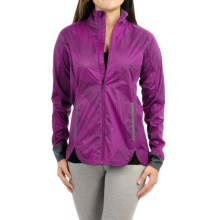 Brooks Drift Shell Jacket (For Women) in Currant Big Sunshine - Closeouts