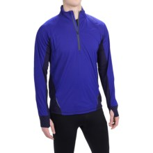 Brooks Drift Shirt - Zip Neck, Long Sleeve (For Men) in Marathon - Closeouts