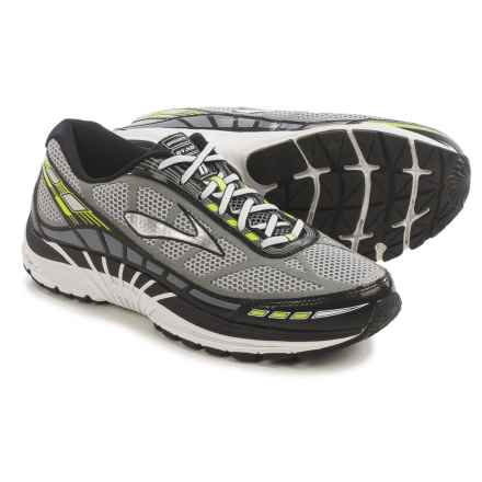 Brooks Dyad 8 Running Shoes (For Men) in River Rock/Black/Night Life - Closeouts