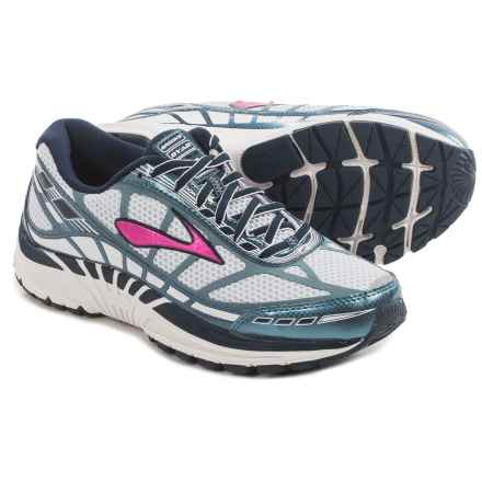 Brooks Dyad 8 Running Shoes (For Women) in Midnight/Storm/Fuchsia - Closeouts