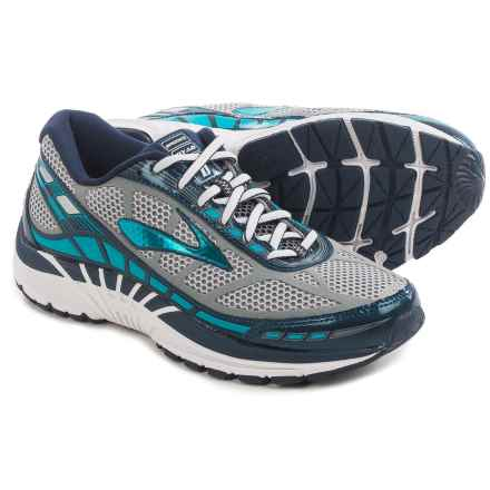 Brooks Dyad 8 Running Shoes (For Women) in River Rock/Blue Bird/Peacoat - Closeouts