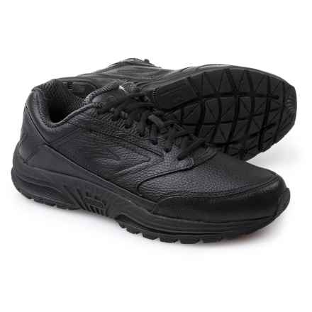 Brooks Dyad Walker Walking Shoes - Leather (For Men) in Black - Closeouts