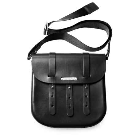 Brooks England LTD. B3 Moulded Saddle Bag - Large in Black - Closeouts