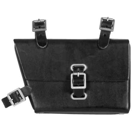 Brooks England LTD. B4 Frame Bag - Leather in Black - Closeouts