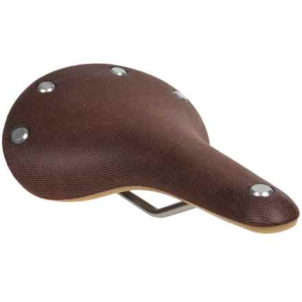 Brooks England LTD. C17S Cambium Saddle - Waterproof (For Women) in Rust - Closeouts