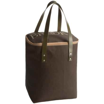 Brooks England LTD. Camden Tote Bag in Moss - Closeouts