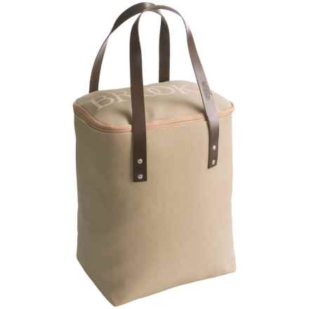 Brooks England LTD. Camden Tote Bag in Sand/Chocolate - Closeouts