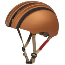 Brooks England LTD. Carrera Collaboration Foldable Helmet in Copper/Red - Closeouts