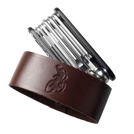Brooks England LTD. MT10 Multi-Tool in Antique Brown - Closeouts