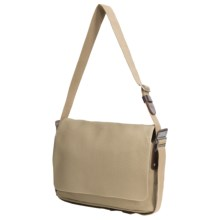 Brooks England LTD. Paddington Messenger Bag in Sand/Choco - Closeouts