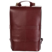 Brooks England LTD. Picadilly Leather Knapsack in Maroon - Closeouts