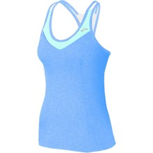 Brooks Epiphany II Support Tank Top - Built-In High-Impact Sports Bra (For Women) in Neptune/Seafoam - Closeouts