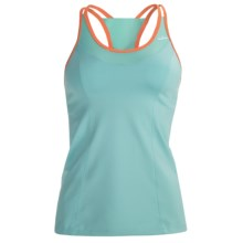 Brooks Epiphany II Support Tank Top - Built-In High-Impact Sports Bra (For Women) in Tropic - Closeouts