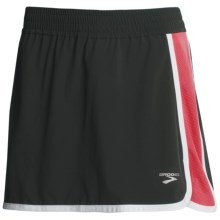 Brooks Epiphany Skort (For Women) in Black/Rouge - Closeouts