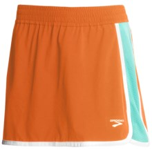 Brooks Epiphany Skort (For Women) in Carrot/Tropic - Closeouts