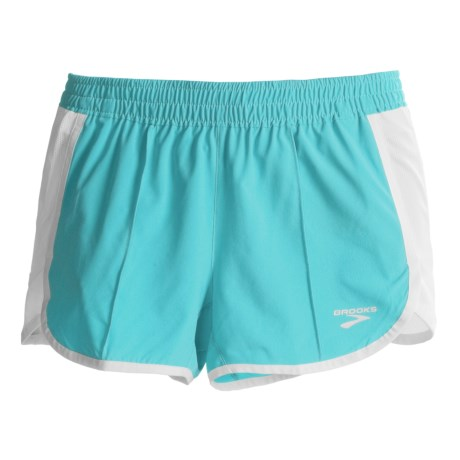 Brooks Epiphany Stretch II Running Shorts (For Women) in Aqua