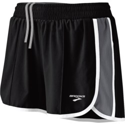 Brooks Epiphany Stretch II Running Shorts (For Women) in Black/Shadow