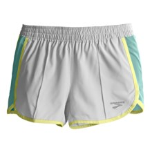 Brooks Epiphany Stretch II Running Shorts (For Women) in White/Tropic - Closeouts