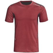 Brooks Equilibrium Shirt - Short Sleeve (For Men) in Rio Red - Closeouts