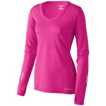 Brooks Essential Shirt - V-Neck, Long Sleeve (For Women) in Asst - Closeouts