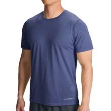Brooks EZ III T-Shirt - Short Sleeve (For Men) in Heather Indigo - Closeouts
