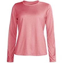 Brooks EZ Shirt - Long Sleeve (For Women) in Rouge - Closeouts