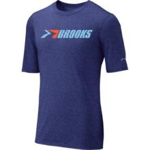 Brooks EZ T III Retro T-Shirt - Short Sleeve (For Men) in Ultramarine - Closeouts