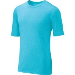 Brooks EZ T III Shirt - Short Sleeve (For Men) in Heather Lava